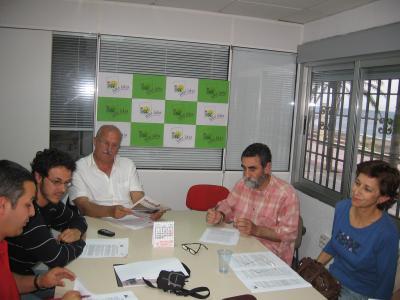 REUNIÓN ÁREA DE EDUCACIÓN DE ALMERÍA 15 de mayo