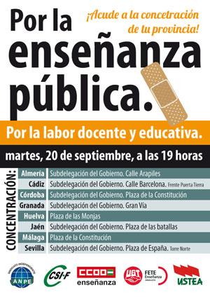 EN DEFENSA DE LA EDUCACIÓN PÚBLICA