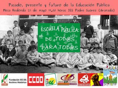 MESA REDONDA.- 21 MAYO 19.00 HORAS IES PADRE SUÁREZ